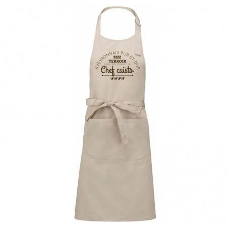 Tablier ADULTE Aveyronnais Chef Cuisto