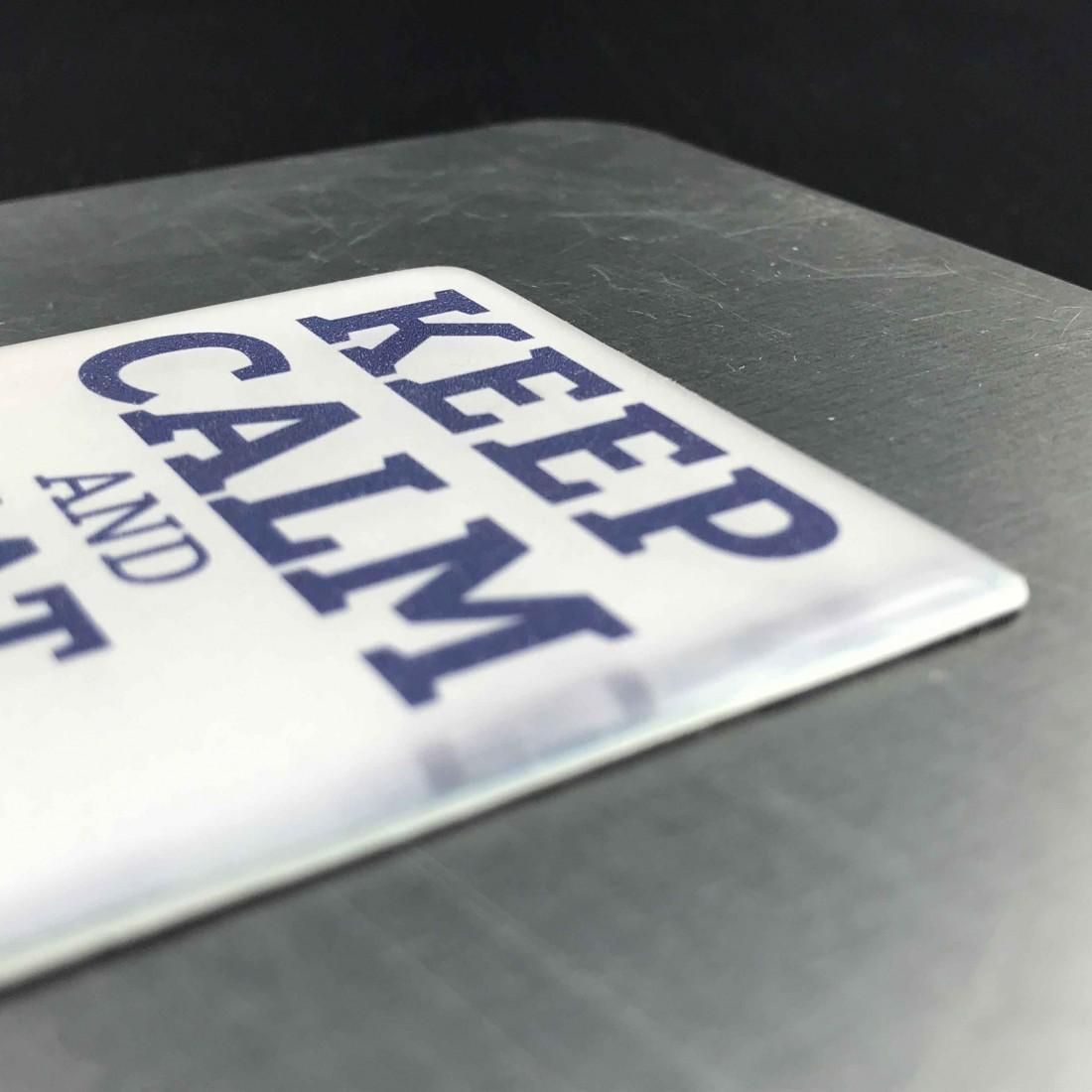 Magnet aimant Keep calm