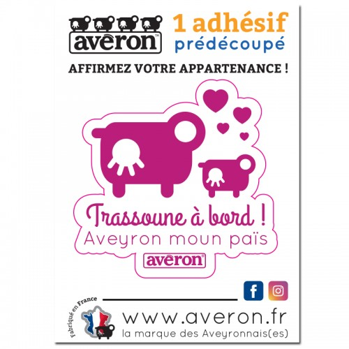 Stickers voiture trassoune