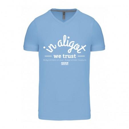 Tee-shirt In Aligot bleu