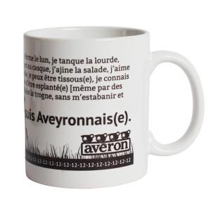 mug personnalisé Aveyron