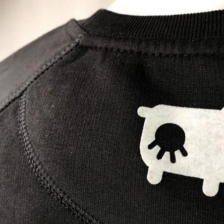 détail du dos sweat Miladiou - Avéron, la marque Aveyronnaise