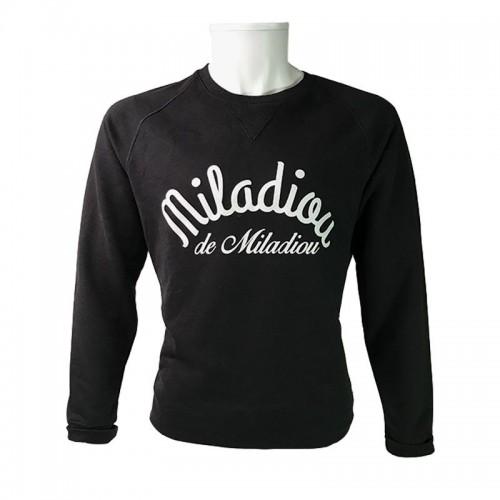Sweat Miladiou en coton - coupe mixte Avéron, la marque Aveyronnaise