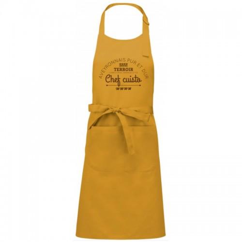 Tablier chef cuisto Aveyron