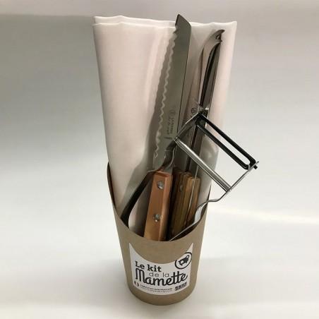 Ensemble d'ustensiles de cuisine - 100% Français - couteau de cuisine