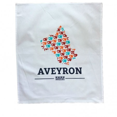 Torchon de cuisine - les indispensables - L'Aveyron